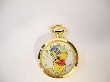 Colibri Winnie the Pooh With Honey Pot and Bee's Necklace Pendant Watch Charm nw