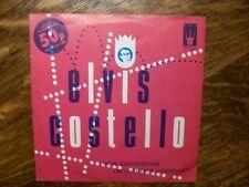 ELVIS COSTELLO New Amsterdam UK 45/PS - Excellent