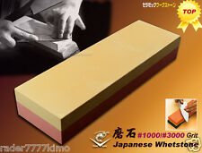 Made In JAPAN NANIWA Combination Whetstone #1000/3000 Grit Sharpening