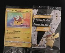 "Ash's Pikachu ""I Choose You"" Pokémon Card Promo 108 Free Shipping!"