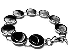 Moon Phase Bracelet Phases of the Moon Jewelry Full Moon Handmade Moon Phases