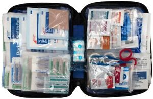 299 Piece First Aid Kit For Work Home Office Camp RV Boat Marine Camping Hiking