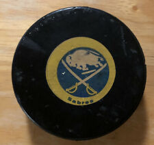 1973-83 Buffalo Sabres Official Viceroy NHL Game Puck Made in Canada BUFFALO AUD