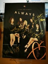 Akor - Korean Kpop - Signed Autographed CD - Always - 2nd Single - Promo