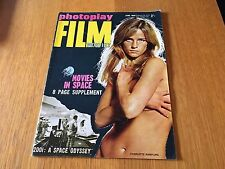 PHOTOPLAY MAGAZINE JUNE 1968 - CHARLOTTE RAMPLING COVER 2001: A SPACE ODYSSEY