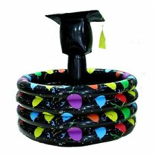 Graduation Hat Inflatable Cooler Party Supplies by FUN EXPRESS, New