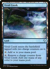 Vivid Creek Commander 2017 NM Land Uncommon MAGIC THE GATHERING CARD ABUGames