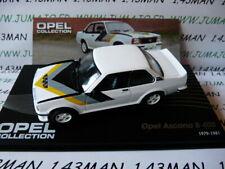 OPE87 1/43 IXO designer serie OPEL collection : Ascona B 400 1979-1981
