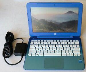HP STREAM 11-D010NR Laptop Netbook 11.6in Celeron 2.16GHz 2GB RAM 32GB Win10