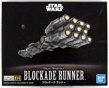 Bandai Star Wars Vehicle Model 014 Blockade Runner Plastic Model Kit From Japan