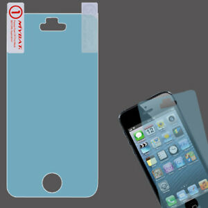 For Apple iPhone 5 5S LCD Screen Protector/Blue Phone Cover