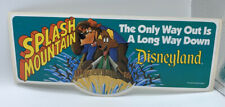Disney Brer Bear Bumper Sticker Opening Splash Mountain Disneyland 1989