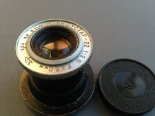 Industar-22 red P 3.5/50mm military modification USSR Soviet lens M39