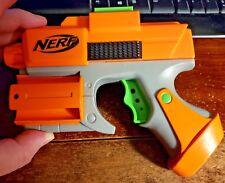 Nerf Orange Crossfire Sidearm Pistol Revolver Dart Tag Gun strikefire Blaster