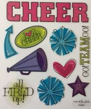 Cheerleading / School / Sports  Scrapbooking Stickers