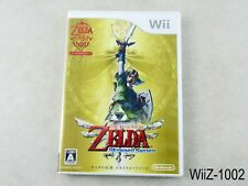 Zelda Skyward Sword Nintendo Wii Japanese Import Japan Legend NTSC-J US Seller A