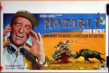 John Wayne : Howard Hawks : Hatari : POSTER