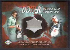 DEXTER SEASON 3 (Breygent) PROP CARD #D3 - P2 BLOODY EVIDENCE BAG (Clear)