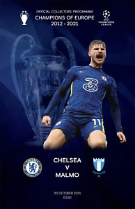 Chelsea v Malmo - UEFA Champion's League Group H - 20 October 2021 - Mint