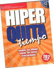 SOPAS DE LETRAS Y OTROS JUEGOS HIPER QUITA TIEMPO 171, 192 PÁGINAS EN ESPAÑOL