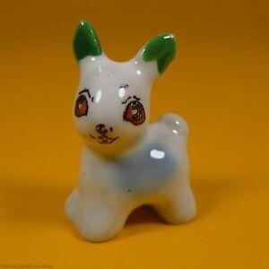 Wade Whimsies(1955/59)Minikins - Set A(1955/56) Standing Rabbit - Green Ears A/F