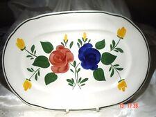 BAUERNBLUME - 1 Platte oval 41,5 cm