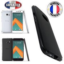 Coque Housse Silicone Noir Souple pour HTC 10