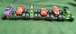 Hot Wheels Monster Trucks Diecast Set/Lot of 5 + 1 FUNLINE TM GM Silverado
