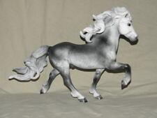 Breyer Horse Statue OOAK CM/Custom Icelandic Horse Elska Dappled Gray