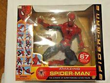 """Marvel 18"""" Inch Super Poseable Amazing Spider-Man (Spider-Man 2 Figure) Toybiz"""