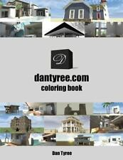 DanTyree. com Coloring Book by Dan Tyree (2013, Paperback)