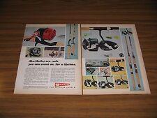1970 Print Ad Garcia Abu-Matic & Mitchell Fishing Reels Conolon Rods