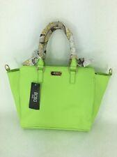 "BCBG Paris Apple Green Gold-Toned ""Scarf Story"" Crossbody Purse Handbag NEW NWT"
