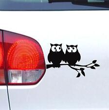 Auto Aufkleber Verliebte Eulen fun tuning Tier sticker