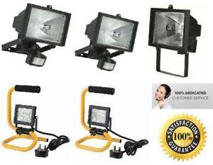 Sensor Light Security Floodlight Outdoor Halogen Garden Motion/ Work