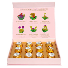 Blooming tea 12 High quality balls pack - Fancy sip | Handmade | 100% natural