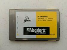 Megahertz Model XJ4288M PC Card Modem XJACK 28.8/14.4 Data Fax - NOT TESTED