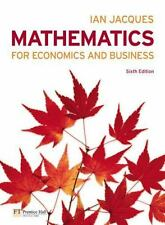 Mathematics for Economics and Business (6th Edition)