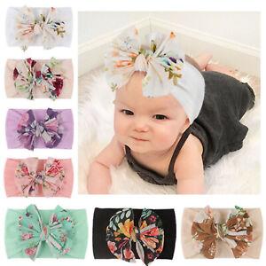 Baby Rabbit Headband Elastic Bowknot Hair Band Girls Bow-knot Newborn Headband
