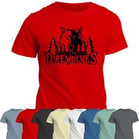 Winterfell Direwolf  T Shirt | Game of Thrones Direwolves Tee Top | Jon Snow