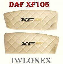 2x LKW Türverkleidung Türpappen Türpolsterung DAF XF106 Euro6