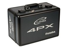 Futaba T4PX/R Senderkoffer Alu # carbon-schwarz