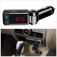 HOT Car LCD Bluetooth Car Kit MP3 FM Transmitter USB Charger Handsfree iPhone