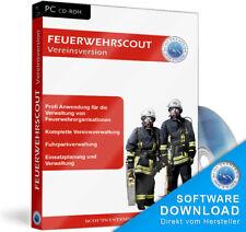 Feuerwehrscout Vereinsverwaltung Feuerwehr Programm EDV Software Programm,EDV,CD