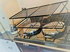 DOUBLE CLOTHES AIRER   for AGA  made in UK