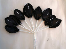 Decorative Flower with rhinestones and pearls  X3 FLOWERS cake decoration,crafts