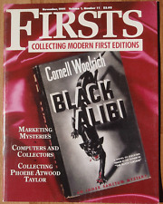 Nov 1991 FIRSTS Magazine Collecting Modern 1st Editions Vol 1 #11 Mysteries