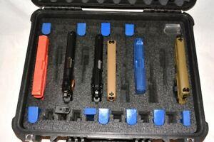 11 pistol handgun gun +22 mags +precut foam insert kit fit your Apache 4800 case