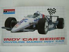 Vintage Monogram Valvoline March Indy Car 1:24 Scale Model Kit #2791