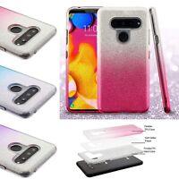 For LG V40 ThinQ / LG V40 Shiny Slim TPU Glitter Bumper Protective Case Cover